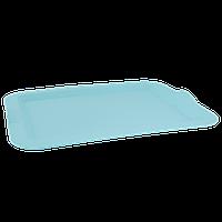 Поднос прямоугольный 46*36*4см. (салатовый)