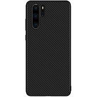 Nillkin Huawei P30 Pro Synthetic fiber Black Чехол Накладка Бампер