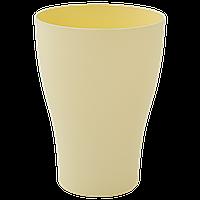 Стакан 0,25л. (жёлтый)