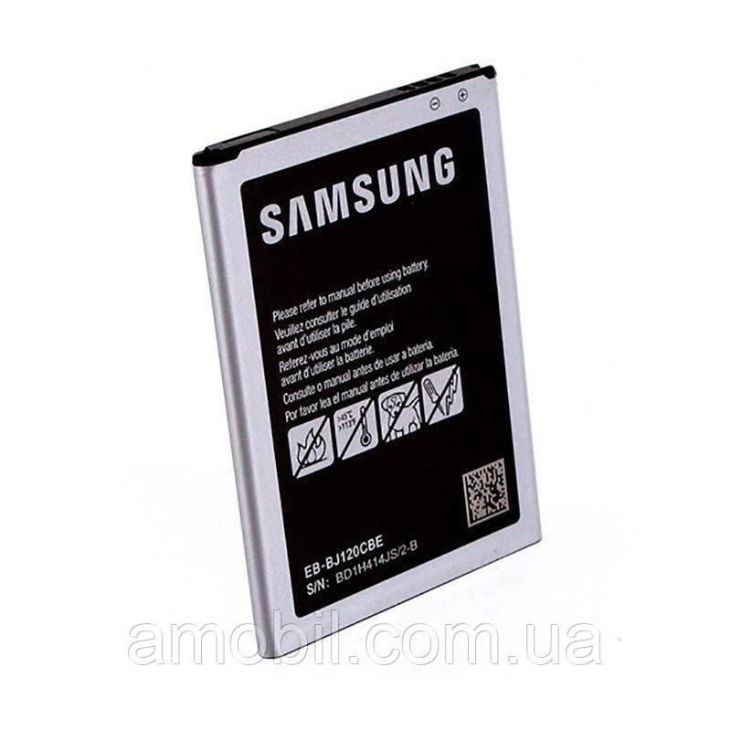 Акумулятор Samsung J120 Galaxy J1 2016 (EB-BJ120CBE) (2250 mAh) б.у