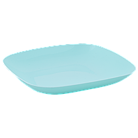 Тарелка 250*250*30мм. (салатовый)