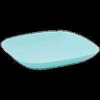 Тарелка 190*190*28мм. (салатовый)