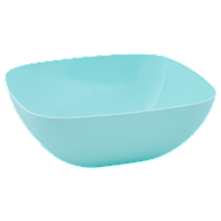 Тарілка глибока 150*150*55мм. (салатовий)