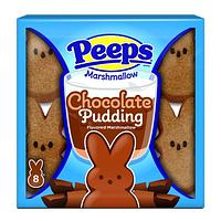 Зайчики с маршмеллоу Peeps Chocolate Pudding 8 chicks 85g