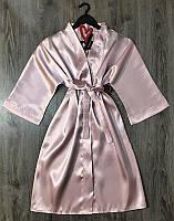 Женский халат без кружева