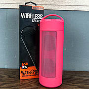 Портативная bluetooth колонка JEDEL WAVE-118 портативная акустика блютуз колонка IPX-7 мощная розовая