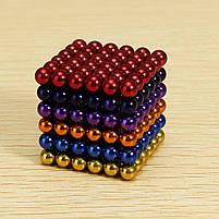 Неокуб (NeoCube) в боксі 216 кульок кольоровий, фото 5