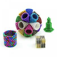 Неокуб (NeoCube) в боксі 216 кульок кольоровий, фото 6