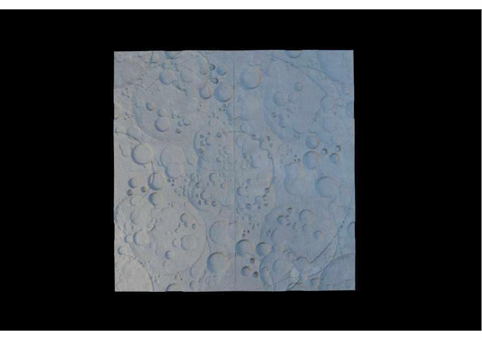 Гіпсова 3D панель  «Moonlight»