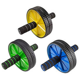 Ролик преса подвійний AB Wheel d=17,5 см 84001