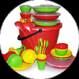 Наборы и посуда для пикника
