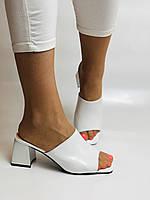 Висока якість! Жіночі босоніжки з відкритим носом,на середньому каблуці,з ремінцем на кісточці.35-40.Vellena, фото 2