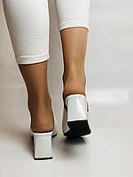 Висока якість! Жіночі босоніжки з відкритим носом,на середньому каблуці,з ремінцем на кісточці.35-40.Vellena, фото 9