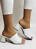 Висока якість! Жіночі босоніжки з відкритим носом,на середньому каблуці,з ремінцем на кісточці.35-40.Vellena, фото 6