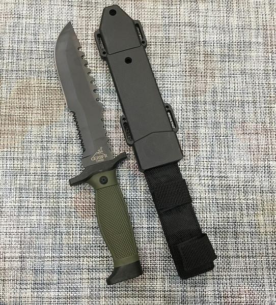 Большой тактический нож GERBFR 30,5см / 2468В для охоты и рыбалки