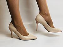 Molka. Модельні туфлі. На шпильці. Натуральна шкіра. Розмір 35, 36, 37,38, 39, фото 6