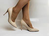 Molka. Модельні туфлі. На шпильці. Натуральна шкіра. Розмір 35, 36, 37,38, 39, фото 3