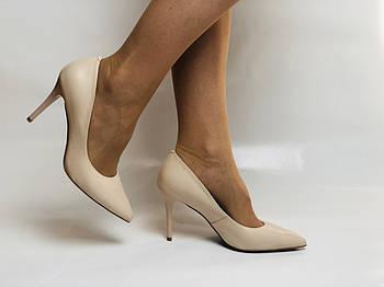 Molka. Модельные туфли. На шпильке. Натуральная кожа. Размер 35, 36, 37,38, 39
