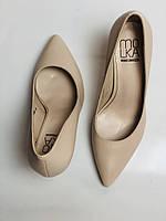 Molka. Модельні туфлі. На шпильці. Натуральна шкіра. Розмір 35, 36, 37,38, 39, фото 9