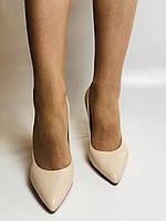 Molka. Модельні туфлі. На шпильці. Натуральна шкіра. Розмір 35, 36, 37,38, 39, фото 8