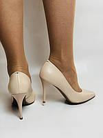 Molka. Модельні туфлі. На шпильці. Натуральна шкіра. Розмір 35, 36, 37,38, 39, фото 4