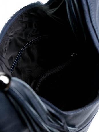 Жіноча сумка 346 Синяя, фото 2