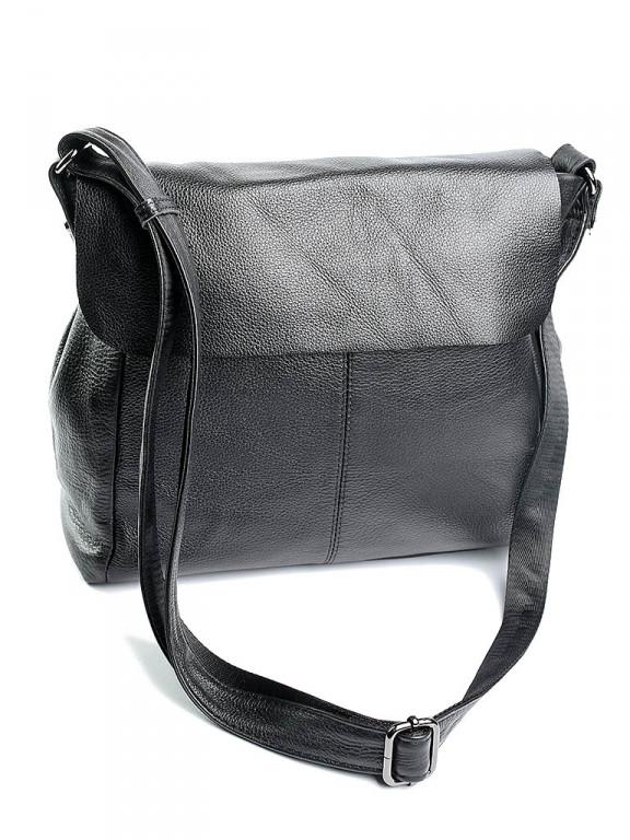 Женская кожаная сумка CB-8950 Черная