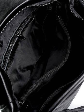 Женская кожаная сумка CB-8950 Черная, фото 2