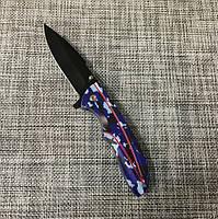 Складной нож АК - 212 (22 см), универсальный нож для охоты, рыбалки и туризма, нож для выживания, фото 2