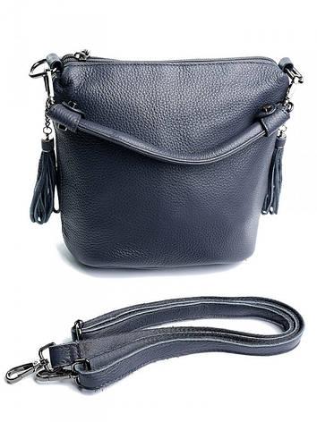 Жіноча сумка 7916 сіра Gray, фото 2