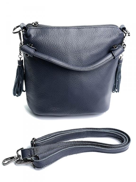 Жіноча сумка 7916 сіра Gray