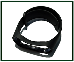 Ремінець для фітнес-браслета Xiaomi Mi Band 3, Mi Band 4, чорний