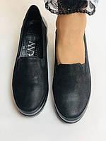 Mammamia. Жіночі туфлі на середній танкетці.Натуральна лакована шкіра.Туреччина. Розмір 35,36,38,39,40, фото 4