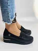 Mammamia. Жіночі туфлі на середній танкетці.Натуральна лакована шкіра.Туреччина. Розмір 35,36,38,39,40, фото 8