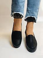 Mammamia. Женские туфли на средней танкетке.Натуральная кожа.Турция. Размер 37,38,39, фото 5