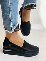 Mammamia. Жіночі туфлі на середній танкетці.Натуральна лакована шкіра.Туреччина. Розмір 35,36,38,39,40, фото 2