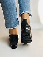 Mammamia. Жіночі туфлі на середній танкетці.Натуральна лакована шкіра.Туреччина. Розмір 35,36,38,39,40, фото 3