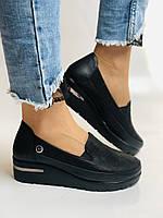 Mammamia. Жіночі туфлі на середній танкетці.Натуральна лакована шкіра.Туреччина. Розмір 35,36,38,39,40, фото 7