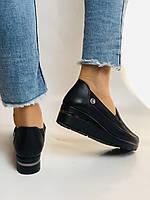 Mammamia. Жіночі туфлі на середній танкетці.Натуральна лакована шкіра.Туреччина. Розмір 35,36,38,39,40, фото 9