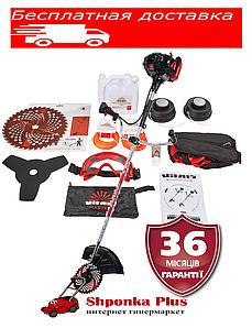 Мотокоса, бензокоса  1,9 л.с. Латвия Vitals Master BK 553s Black Edition триммер бензиновый