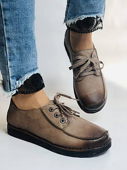 24pfm. Женски туфли на широкую ногу. Натуральная кожа. Размер 40.Супер комфорт