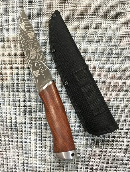 Охотничий нож c Чехлом 26см Colunbir Н-718, универсальный нож для охоты, рыбалки и туризма, нож для выживания