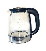 Стеклянный электрический чайник Rainberg RB-703, фото 2