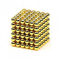 Неокуб (NeoCube) в боксі 216 кульок Золотий, фото 6