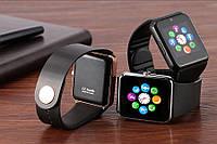 Смарт часы GT08 Black умные часы Smart Watch