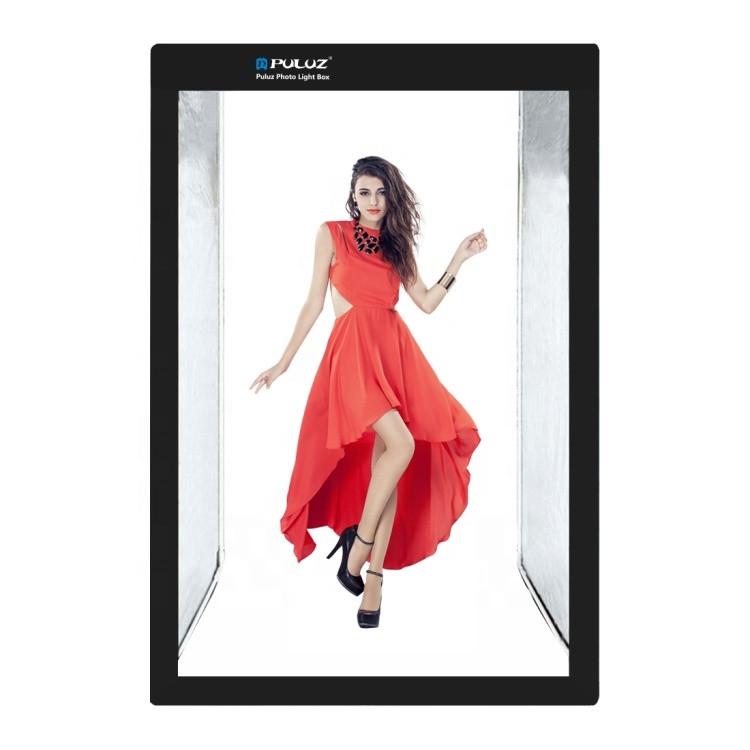 Лайткуб (фотобокс, фотостудия) Puluz PU5210 200 x 120 x 80 см для предметной съемки Black