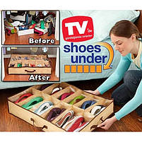 Органайзер для зберігання взуття Shoes Under (Шуз Андер), фото 2