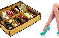 Органайзер для зберігання взуття Shoes Under (Шуз Андер), фото 3