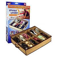 Органайзер для зберігання взуття Shoes Under (Шуз Андер), фото 4