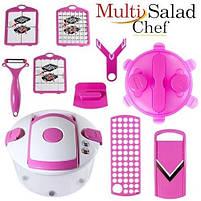 Овощерезка Multi Salad Chef 13 в 1, Набор для нарезки салатов, фото 6